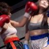 元B-1王者の美女ボクサー赤木ゆうがグラドルまやと女子ボクシング対決