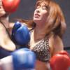 美しすぎる高梨りのと澁谷果歩が爆乳揺らし女子ボクシング対決