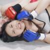 横山夏希と月乃しずくが総合格闘技で窒息寸前まで戦い抜く