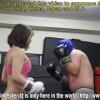 美脚ぞろいの美女達がミックスボクシングで男をボコりまくる