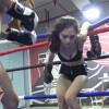 異なるタイプの美女同士が激しく殴り合うアジアン女子ボクシング対決