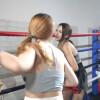 スレンダーなアジアン美女が女子ボクシング対決 Jialu VS Ermei